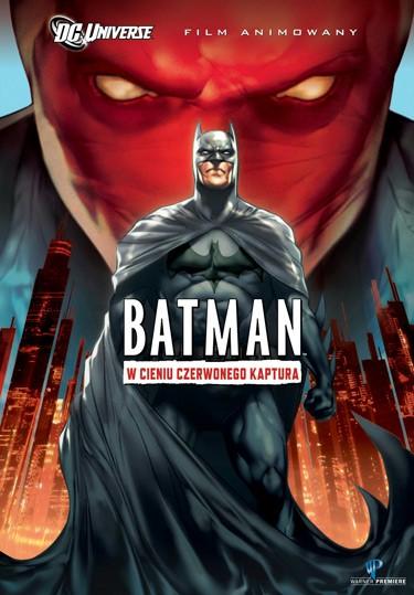 prezent batman czerwony kaptur