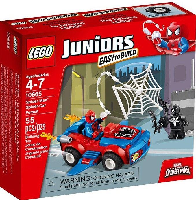 prezent lego spider jun