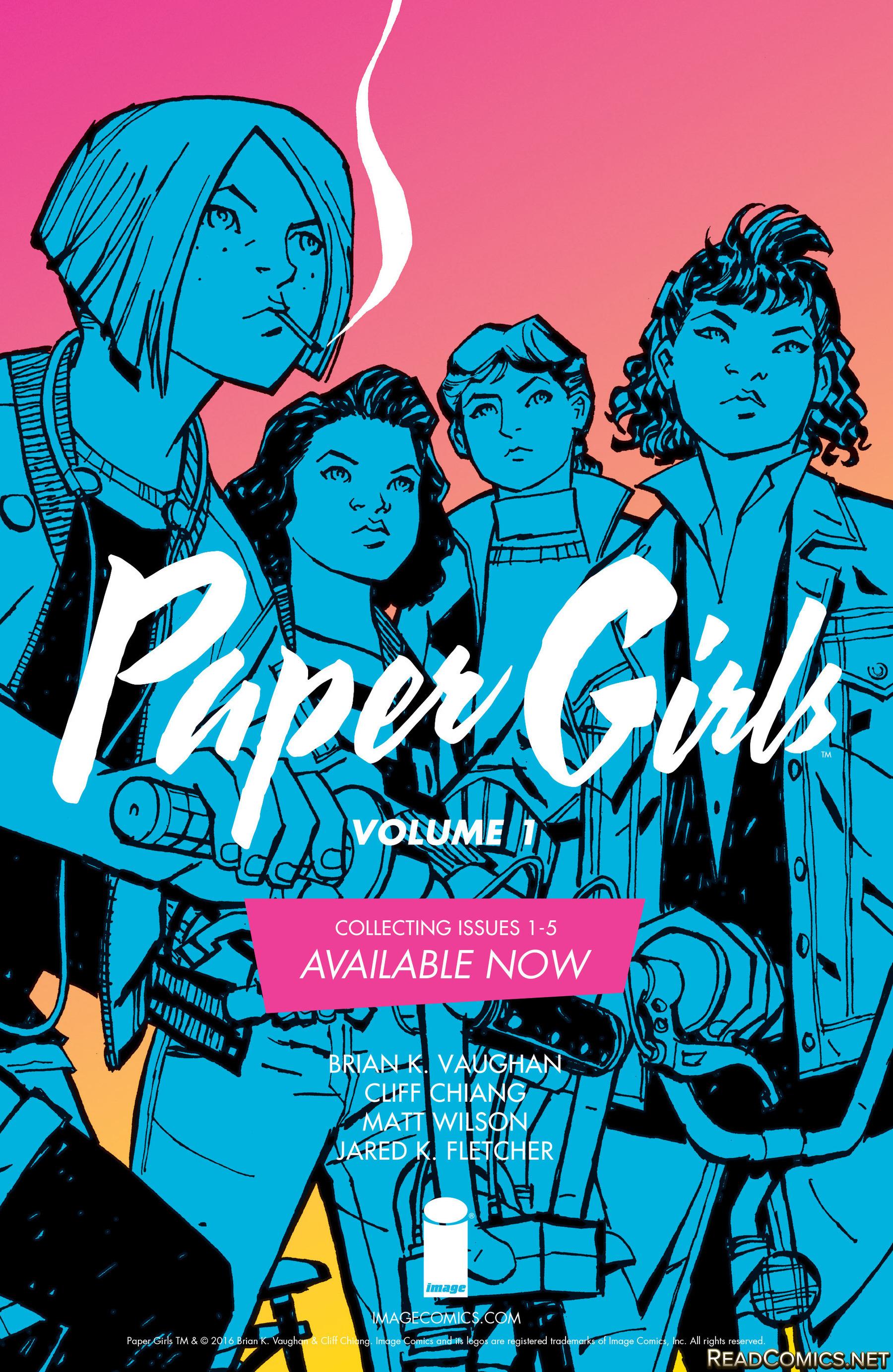 paper girl 1 tpb