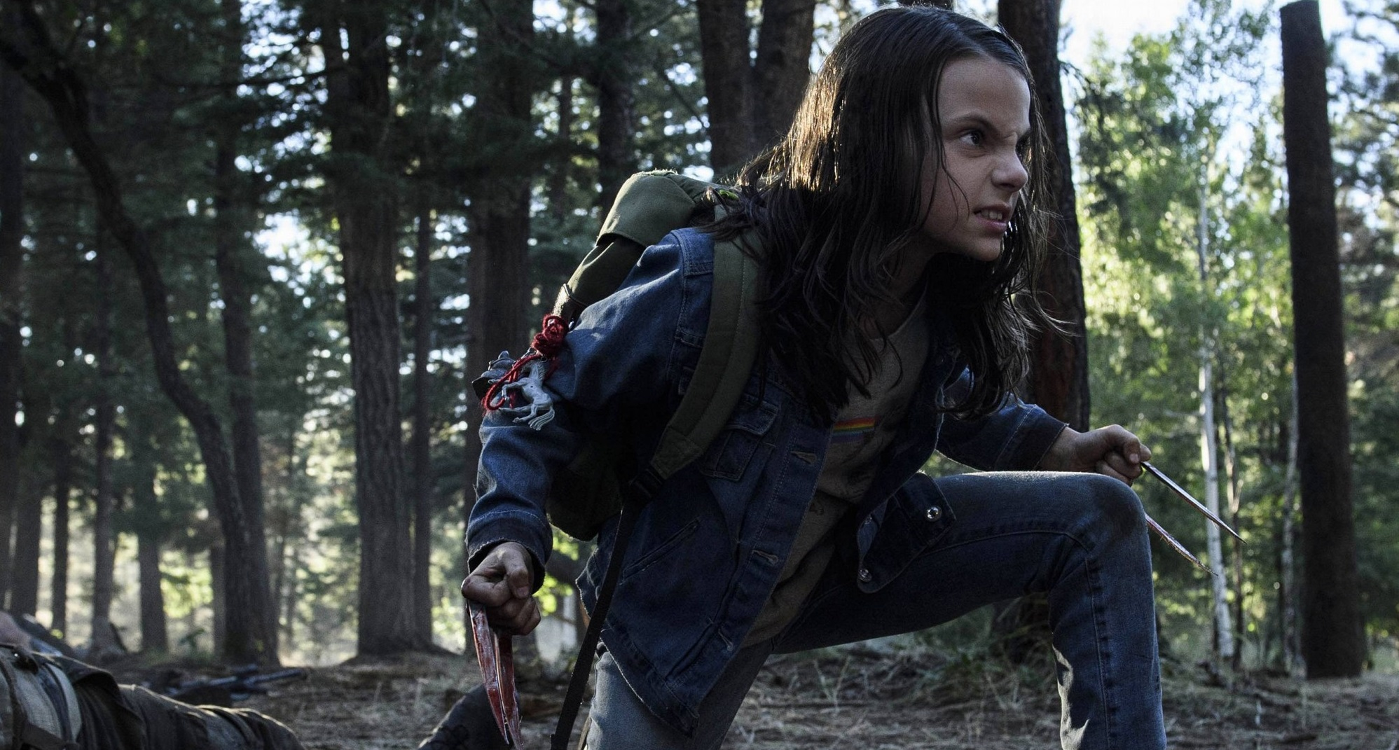 ontrast miedzy Laurą/X-23, a Loganem nie polega tylko na prostym eksponowaniu różnicy wieku.