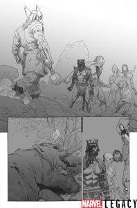 Prehistoryczni Avengers w Marvel Legacy