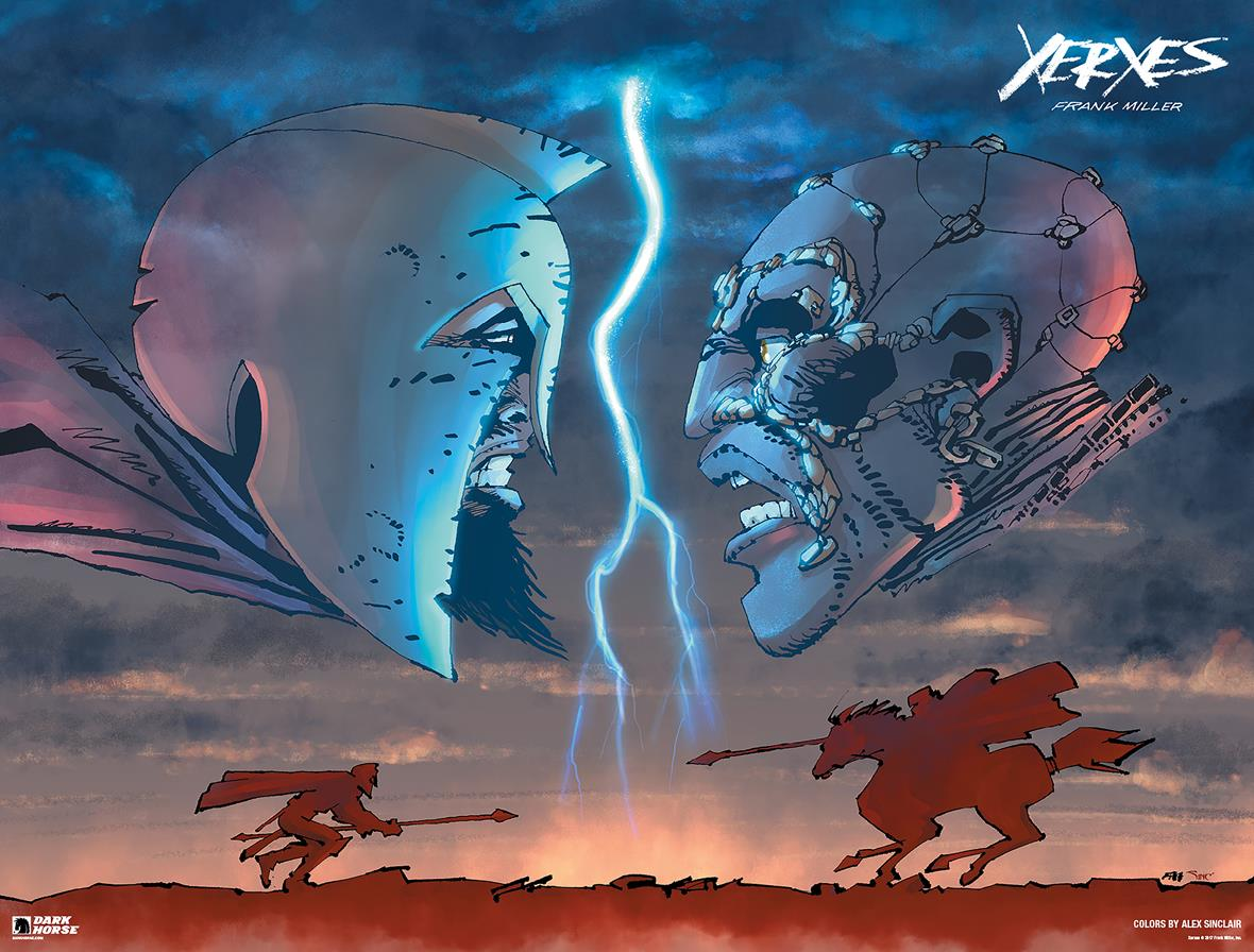 Frank Miller The Fall of the House of Darius and the Rise of Alexander