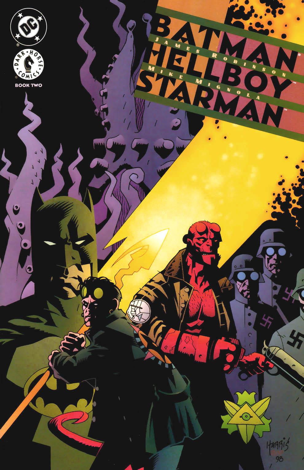 Hellboy in DC comics